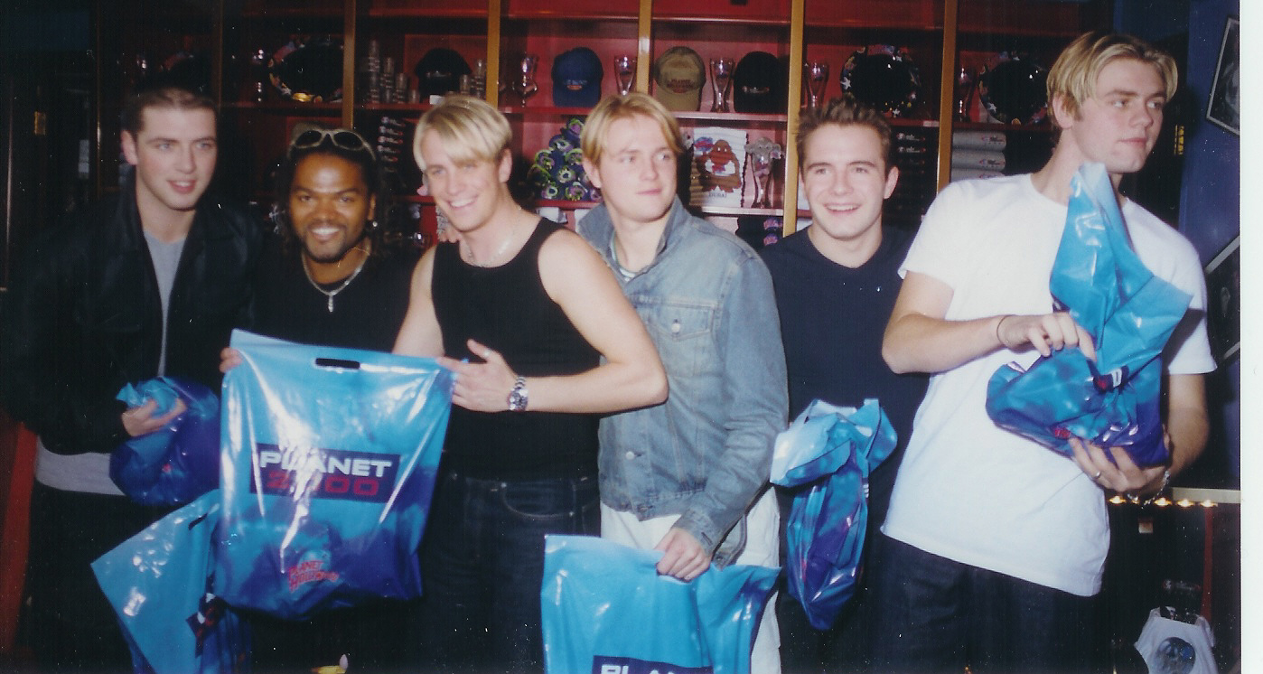...ask me about my Westlife story...