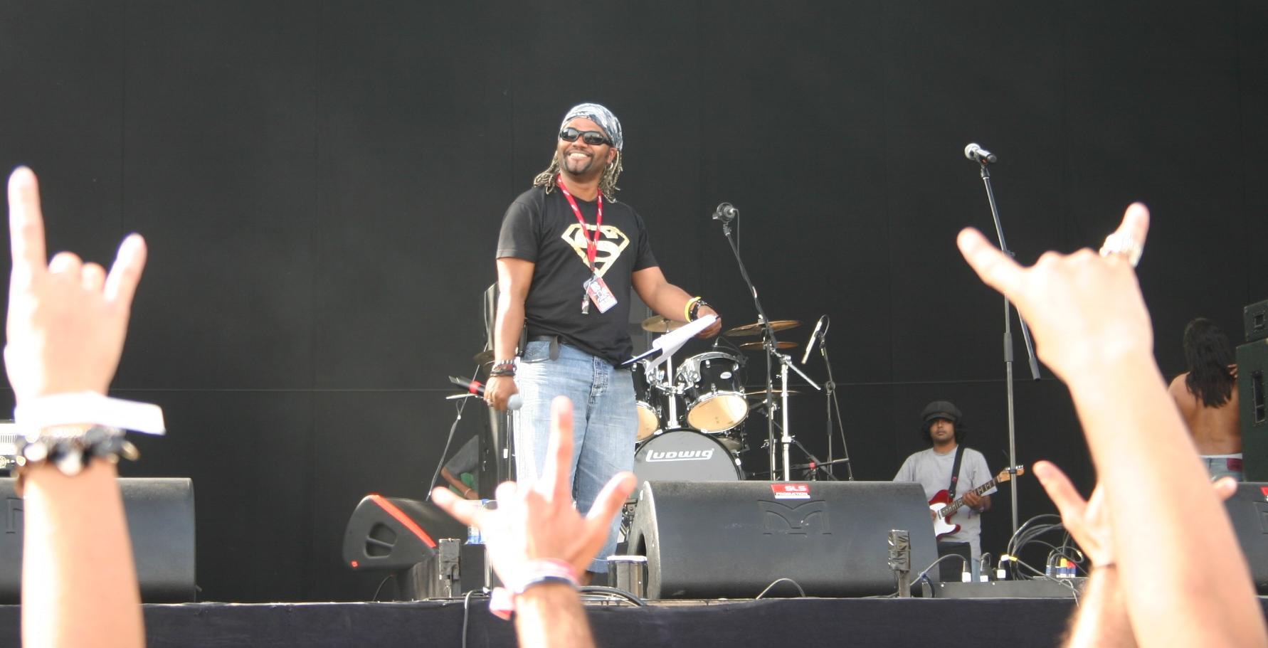 Working alongside Slash, The Prodigy and Muse at the Desert Rythmn Festival